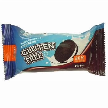 Slepované kakaové sušenky se smetanovou náplní 64g Bob´s cookies