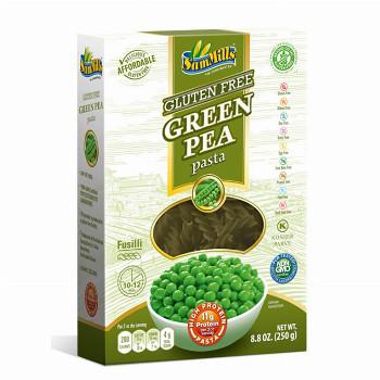 Těstoviny ze zeleného hrášku - Vřetena 250g Sam Mills
